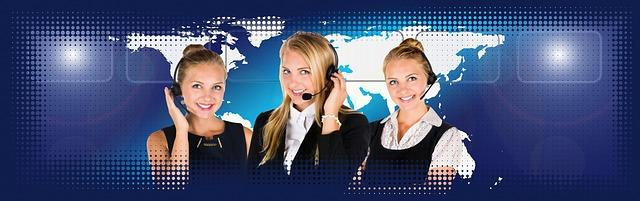 Call Center Bild